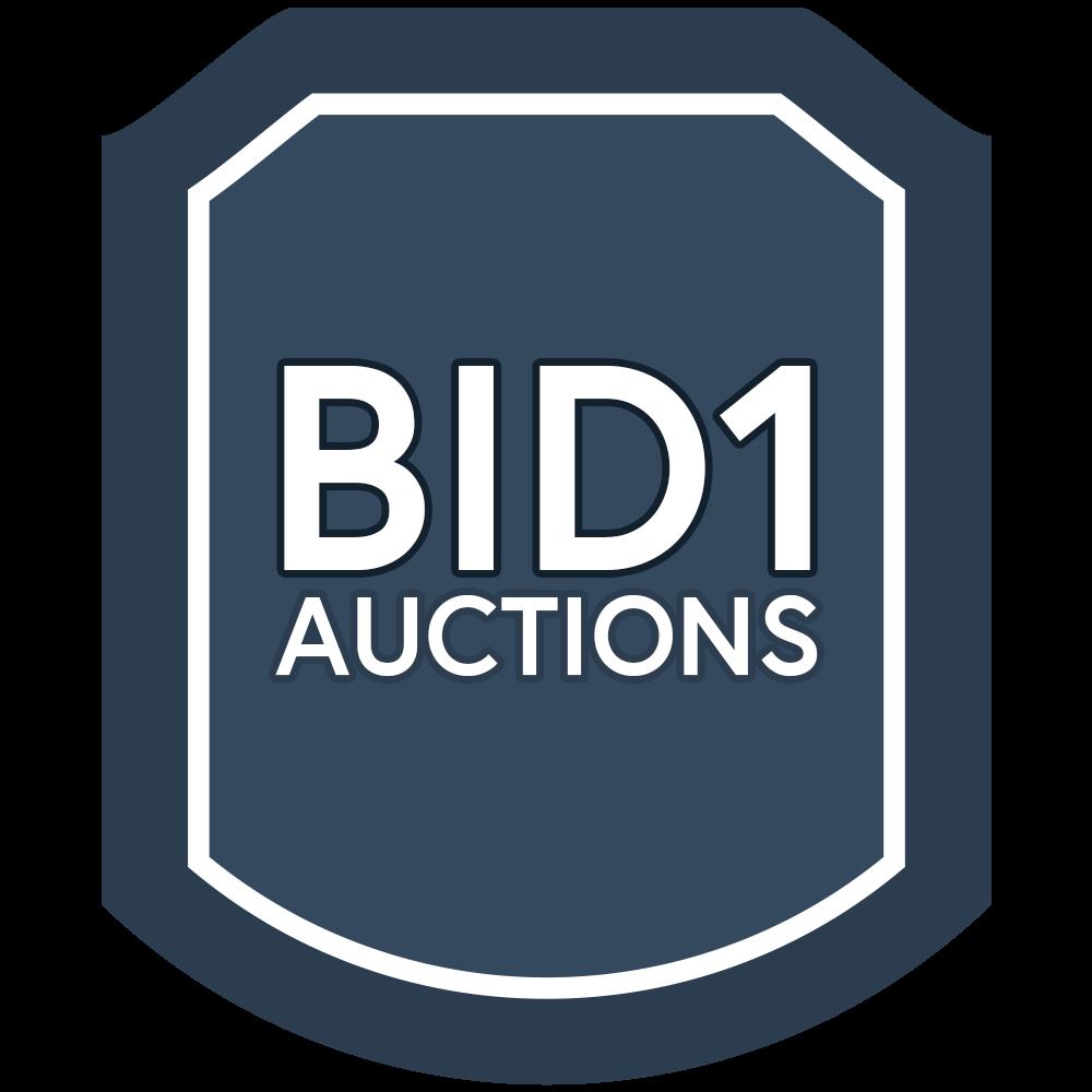 Bid1 Auctions Logo